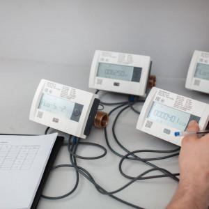 Технологический процесс поверки теплосчетчиков