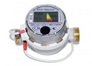 Четырехтарифные счетчики горячей воды ЛВ4-ТМ1-моноблок